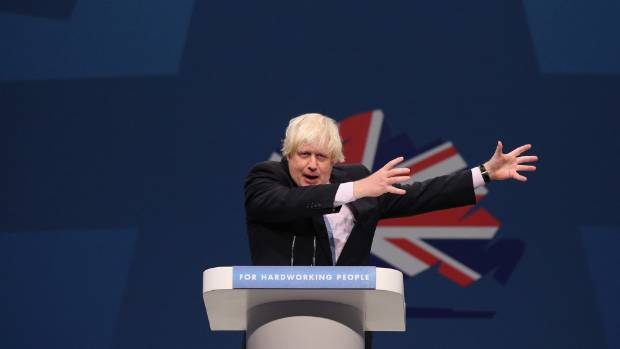 HE'S RUNNING: Boris Johnson has finally revealed he will stand for election to the House of Commons.