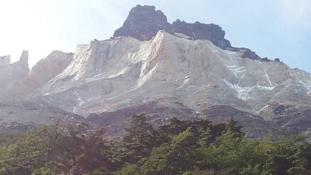 YOU BEAUTY: Torres del Paine and its layers of igneous, sedimentary and metamorphic rock.