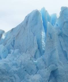 CHILE RECEPTION: The Grey Glacier extends 28km from the Southern Patagonian Ice Field and has a measured area of 270 ...