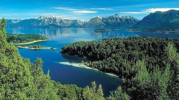 NO TIME FOR SLUMBER: Bariloche Lake, Patagonia, Argentina.