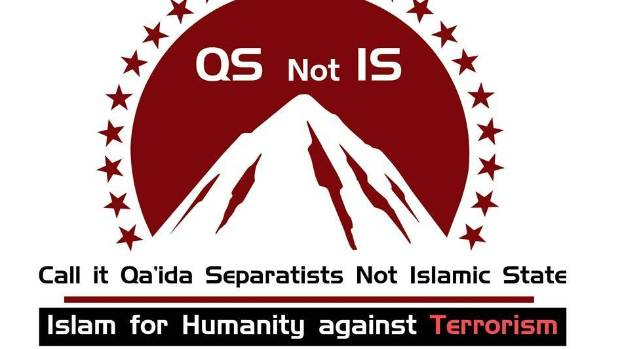 THERE'S MUCH IN A NAME: Call it Qa'eda Separatists not Islamic State - the logo of the online movement to rename Islamic ...