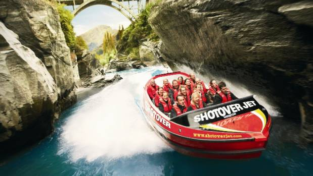 GOOD ENOUGH FOR THE ROYALS: CNN has rated Queenstown's Shotover Jet amongst the best tourism experiences in the world.