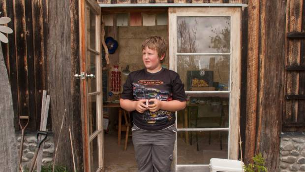 EXPLOSIVE DEVELOPMENT: Toby Hill of Foxton makes his own firecrackers to sell at a local market.