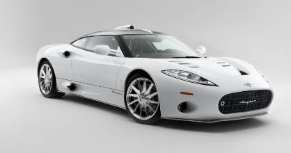 Spyker built bespoke supercars such as this C8 Aileron