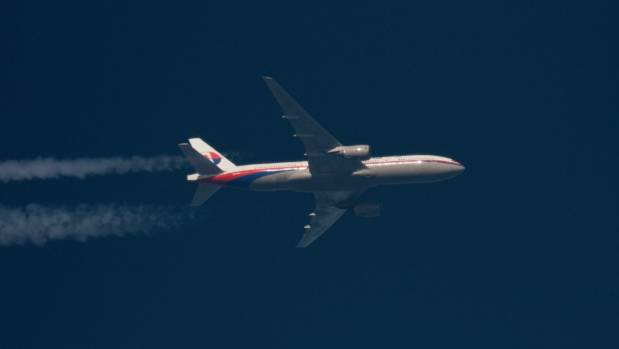 Malaysia Airlines flight MH370 pictured during an earlier journey.