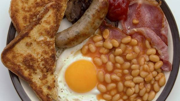 Eating an English breakfast will certainly keep you hunger-free until lunchtime.