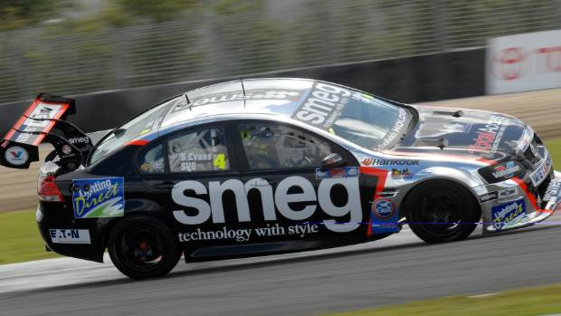 POLE POSITION: Simon Evans leads the NZ SuperTourers by more than 100 points heading into this weekend.