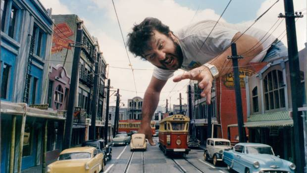 HISTORY REMEMBERED: Peter Jackson on the set of Braindead in 1992.