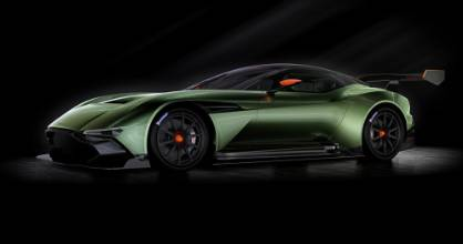 ON TRACK: Aston Martin's Vulcan is aimed at the very top of the track day warrior market.
