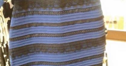WHAT COLOUR IS THIS DRESS: White and gold, or blue and black? The Internet just can't decide.