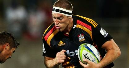 INJURY WORRY: All Black lock Brodie Retallick in action for the Chiefs.