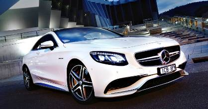 QUICK COUPE – Merc's new S 63; 430kW, 900Nm. Enough said