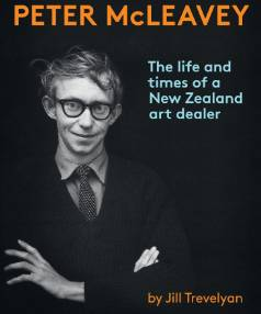 New Zealand Post Book Awards Book of the Year winning biography Peter McLeavey: The life and times of a New Zealand art dealer by Jill Trevelyan was printed at Te Papa Press.