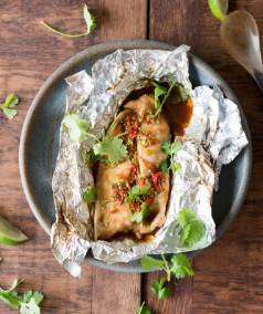 Recipe: Fragrant Asian steamed fish parcels | Stuff.co.nz