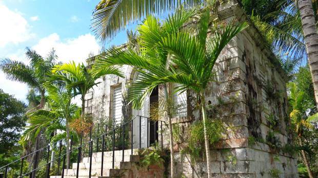 The one-time Counting House is now a honeymoon suite at Good Hope Plantation in Jamaica. Plantation owner John Tharp, a ...