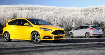 Ford Focus ST, still a front drive favourite of ours.