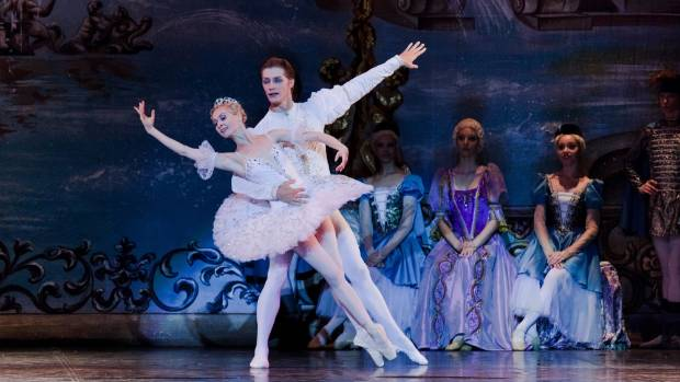 A scene from Moscow Ballet's production of Sleeping Beauty, to be staged at Founders Theatre in Hamilton on May 24.