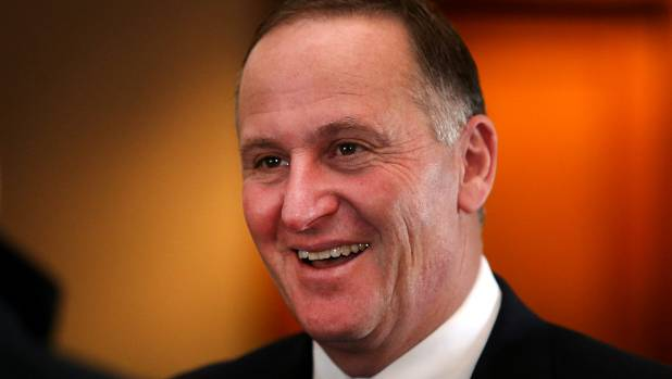 Prime Minister John Key was in New Plymouth on Sunday to address National Party members at the weekend's Central North Island Regional conference.