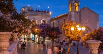 Taormina, Sicily is home to one of the best, friendliest little hotel anywhere.