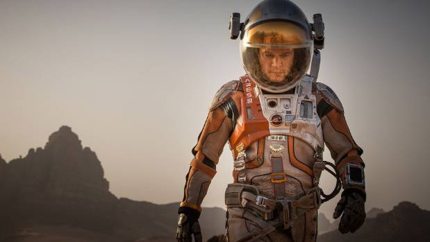Astronauts Watch Sneak Peak of The Martian While In Space
