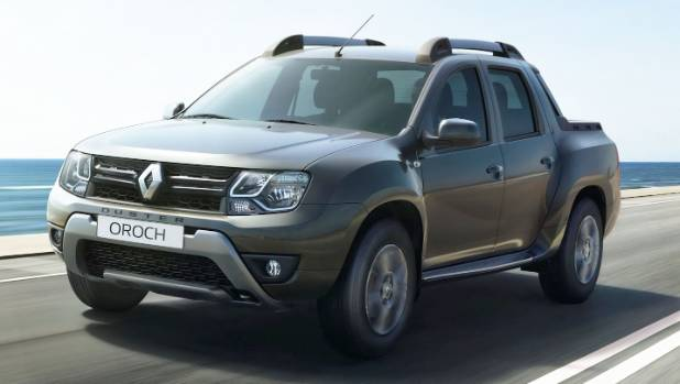 renault dusts off its first small ute. Black Bedroom Furniture Sets. Home Design Ideas