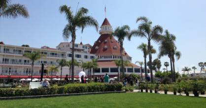 "The iconic Hotel Del Coronado was built in 1887 and used as the setting for ""Some Like It Hot""."