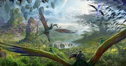 Walt Disney Imagineering in collaboration with filmmaker James Cameron and Lightstorm Entertainment is bringing to life the mythical world of Pandora, inspired by Avatar. It will open in 2017.