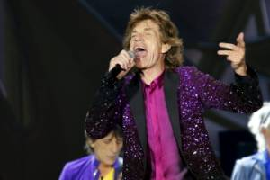 At 72, Mick Jagger's set to be a dad again.