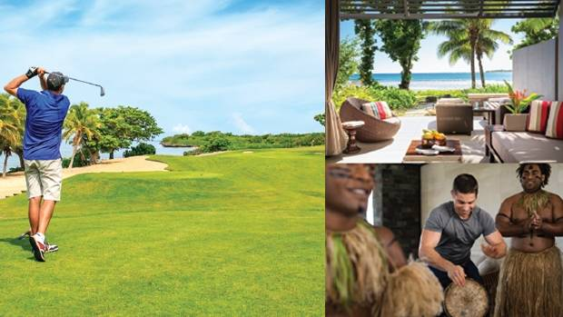 Image result for High Res fiji golfing holidays