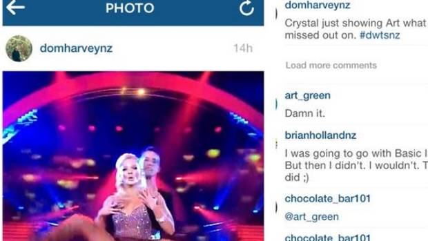 Chrystal Chenery right to be angry at Dom Harvey over crotch