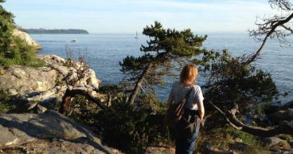 Lighthouse Park in West Vancouver offers forest trails, seaside bluffs and big views.