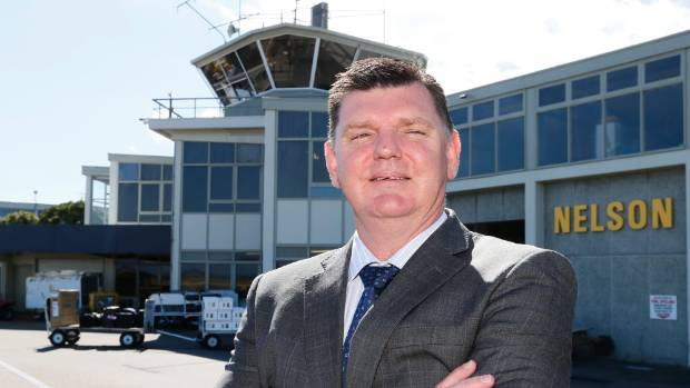 Nelson Airport CEO Rob Evans wants to see a million passengers pass through the city's terminal next year.
