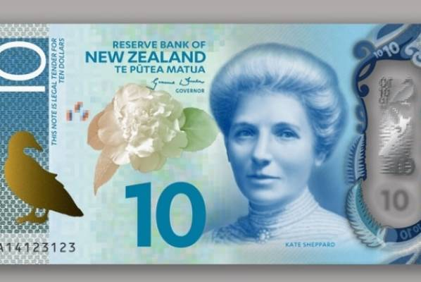 New $10 note.