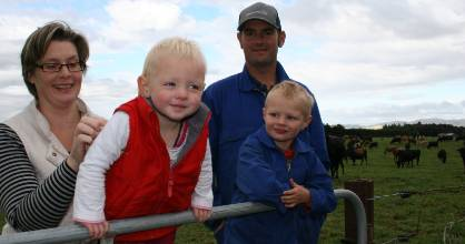 Lisa Charmley says her Dannevirke family will be thinking hard about taking up the Fonterra interest-free loan offer.