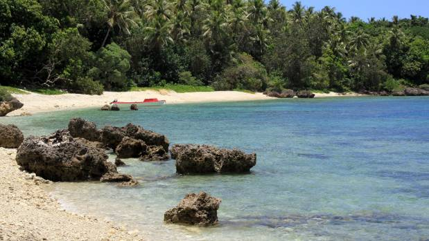 Clear water and crowd-free beaches prevail on Efate Island.