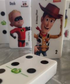 Countdown domino collectables have sparked pushing, swearing and theft reports in Dunedin.