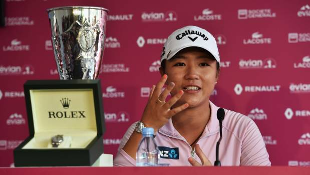 Chun grans lead as Ko clings to hope t Evian