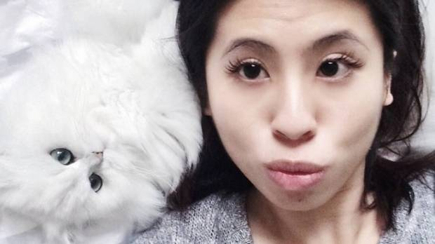 Joyce Quah owner of Chloe, a chinchilla persian cat, says she is happy to have her baby back.