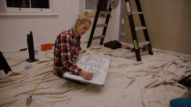 Brooke works how how she will possibly get everything done to finish the villa on time.