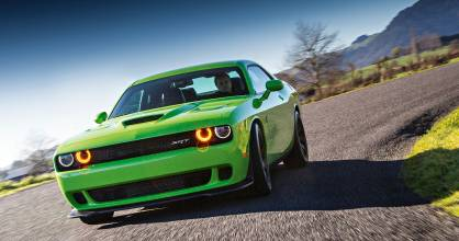 The Challenger Hellcat - the most powerful muscle car ever.