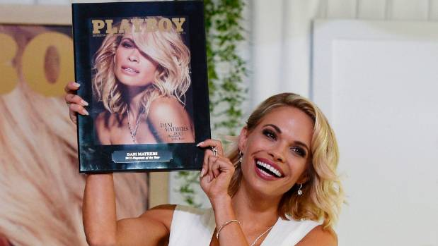 Playboy model accused of lacking common decency