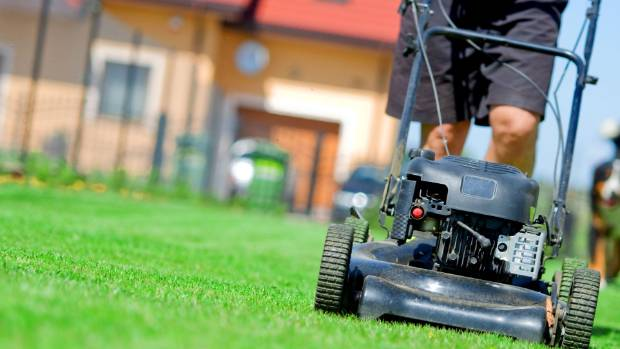 The lawns will be calling many a home owner this weekend.