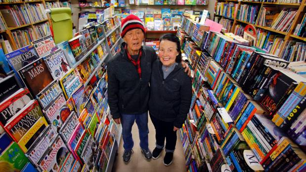 Bill and Fay Far are an Island Bay institution, having owned Island Bay Stationers for 43 years.
