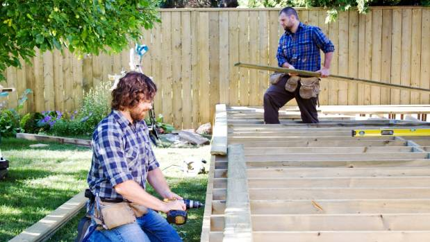 Building a deck can also make a big difference to some houses.