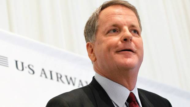 American Airlines chief executive Doug Parker was in New Zealand for the announcement.