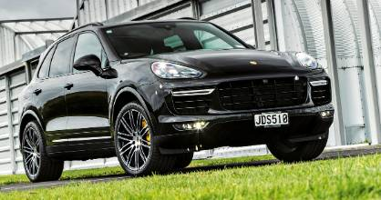 Turbo S - it's the Porsche Cayenne turned up to 11