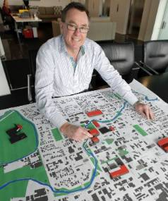 The Christchurch Central Development Unit's Don Miskell was the co-lead of the city's blueprint's design team.