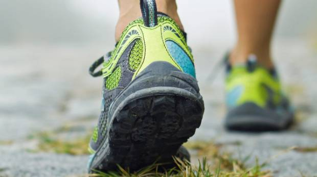 Even gaining an extra few kilos can have an impact on your feet.