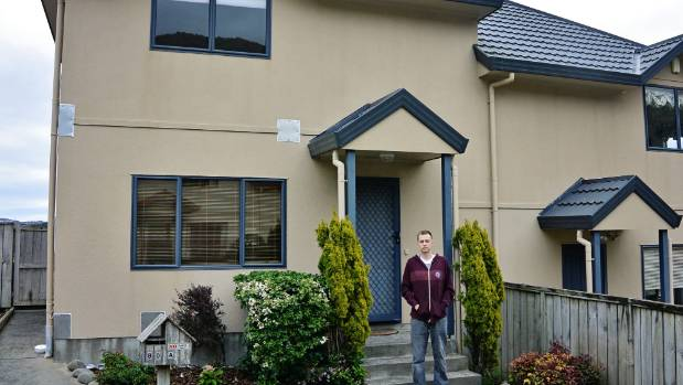 Scott Woodhead had gone unconditional on his first house in August before discovering leaky home problems.