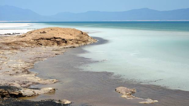 Lake Assal in Djibouti.